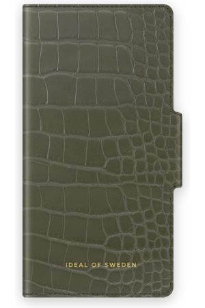 IDEAL OF SWEDEN Phone Cases - Atelier Wallet iPhone 12 Pro Max Khaki Croco