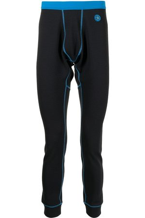Bally Men Leggings - Two-tone contrast-stitching leggings