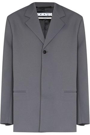 OFF-WHITE Men Blazers - Crease single-breasted blazer