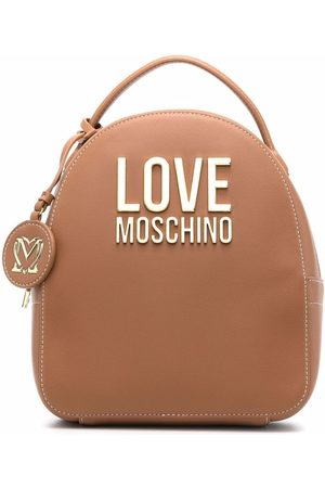 Love Moschino Leather-effect backpack