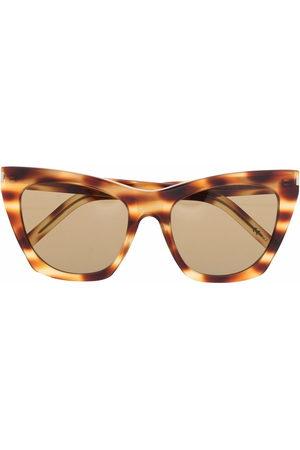 Saint Laurent Tortoise-shell cat-eye sunglasses