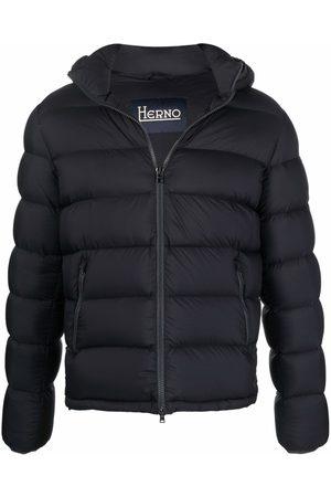 HERNO Detachable hood puffer jacket