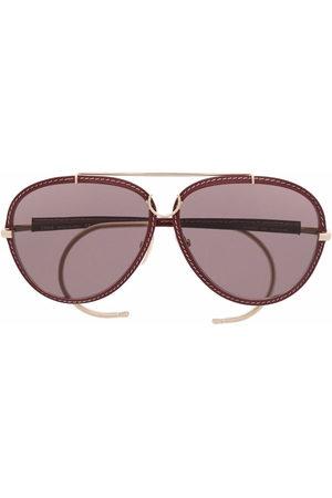 Chloé Aviator frame sunglasses