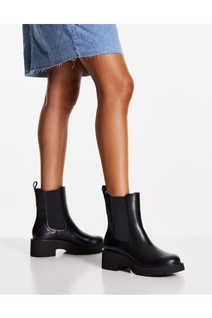 Camper Leather heeled chelsea boots in