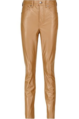 VERONICA BEARD Maera faux leather leggings