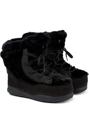 Bogner La Plagne shearling snow boots