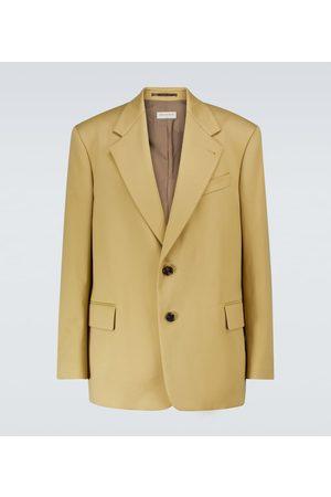 DRIES VAN NOTEN Single-breasted cotton blazer
