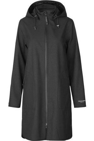 Ilse Jacobsen Women Raincoats - Soft Shell Raincoat with Detachable Hood