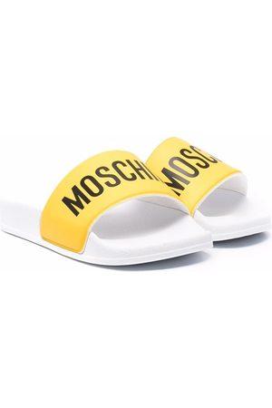 Moschino Thongs - Logo-print slides
