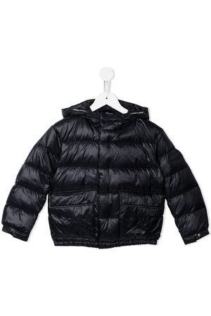 Emporio Armani Winter Jackets - Hooded puffer jacket