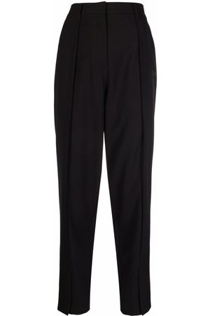 OFF-WHITE Women Formal Pants - Logo-print tailored trousers