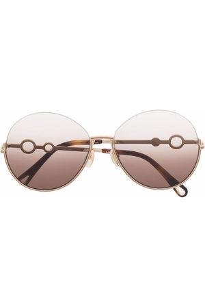 Chloé Sofya round frame sunglasses