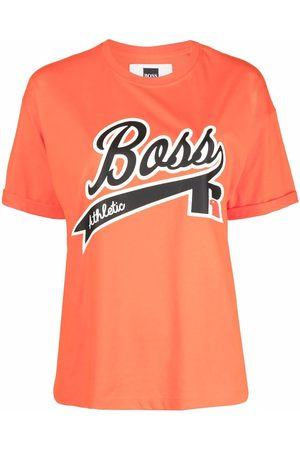 HUGO BOSS X Russell Athletic logo-print T-shirt