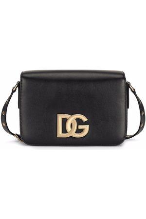Dolce & Gabbana DOLCE E GABBANA WOMEN'S BB7077AW57680999 LEATHER SHOULDER BAG
