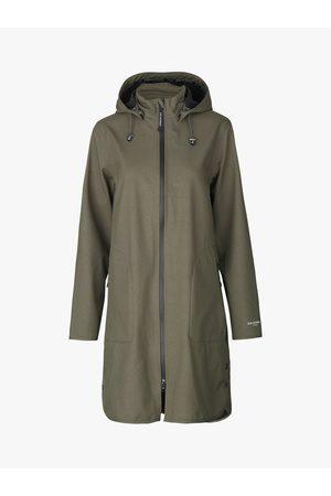 Ilse Jacobsen Soft Shell Raincoat with Detachable Hood