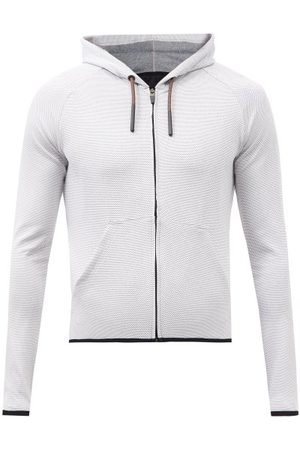 Cafe du Cycliste Solenne Hooded Cycling Jersey - Mens - Light