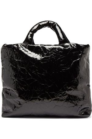 Kassl Editions Pillow Lacquered Leather Tote Bag - Womens