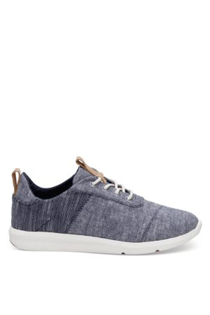 TOMS Ladies Cabrillo Chambray Mix Sneaker