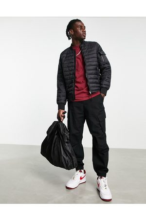 Bershka Quilted puffer in