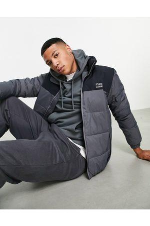 Quiksilver Wolf Shoulders puffer jacket in