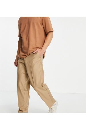 New Look Oversized fit smart pants in -Brown
