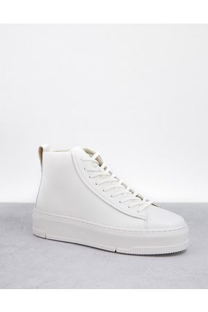 Vagabond Judy high top sneakers in leather