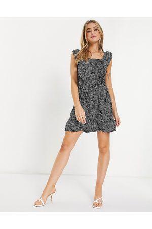 Ax Paris Square-neck mini dress in -Multi
