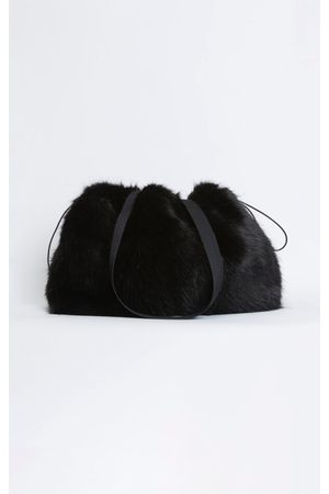 Rodebjer Quinn Faux Fur Tote
