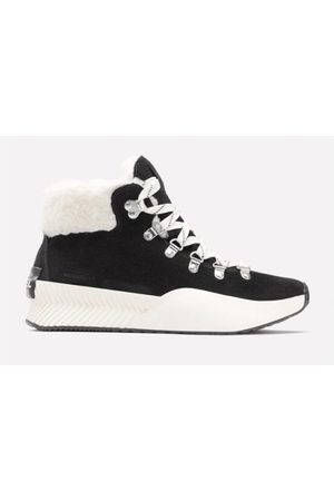 sorel Out N About lll Conquest Black & White Boots