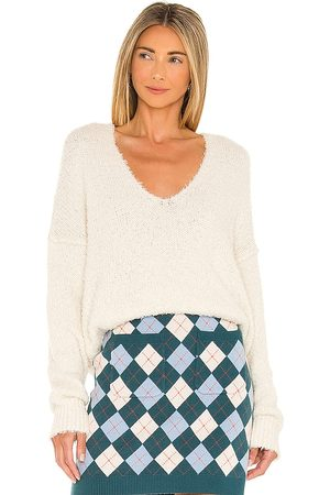 Free People Theo V Neck Sweater in .