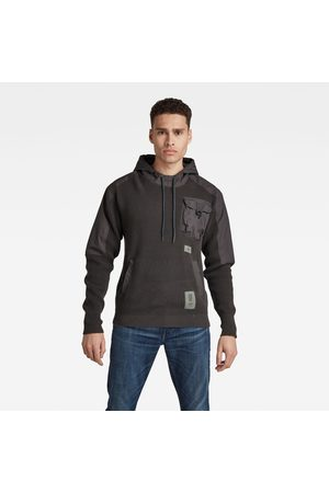 G-Star Woven Mix Hooded Knit