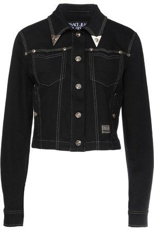 VERSACE Women Outdoor Jackets - Denim outerwear