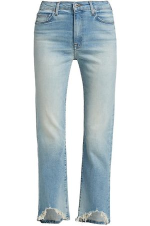 JONATHAN SIMKHAI River High-Rise Straight-Fit Jeans