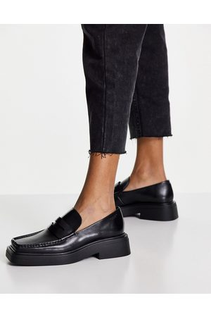 Vagabond Eyra flat loafers in leather