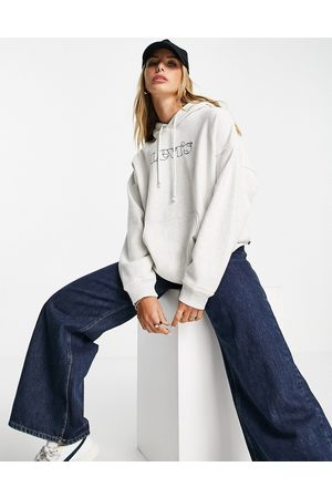 Levi's Graphic rider logo hoodie in