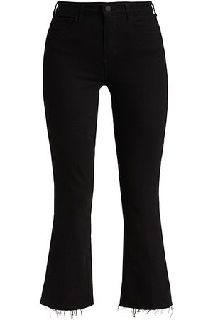 L'Agence Kendra High-Rise Cropped Jeans