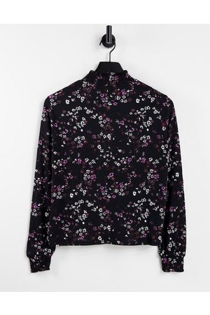 ONLY Long sleeve high neck top in