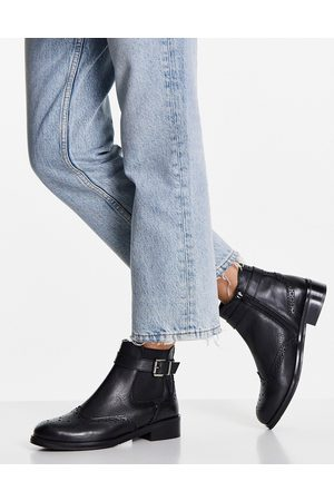 Dune Chelsea boots with buckle in