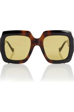 Gucci Women Sunglasses - Tortoiseshell square sunglasses