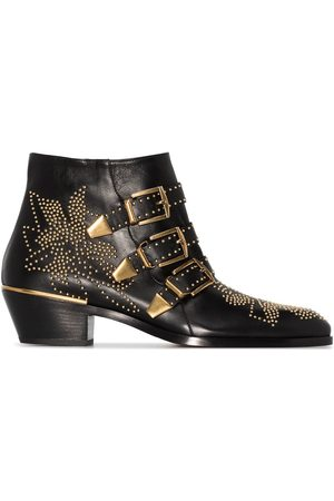 Chloé Women Ankle Boots - Susanna 30mm studded ankle boots
