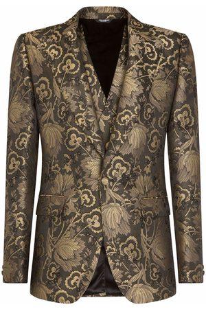 Dolce & Gabbana Men Suits - Lamé jacquard dinner suit