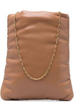 Nanushka Rectangular padded shoulder bag