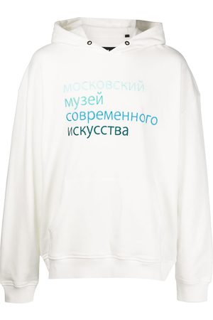 HACULLA Georgia slogan-print cotton hoodie