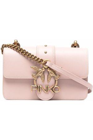 Pinko Women Shoulder Bags - Logo-plaque shoulder bag
