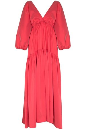 Bernadette Marlow V-neck maxi dress