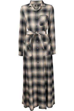 Ralph Lauren Women Casual Dresses - Esther check-print long shirt dress