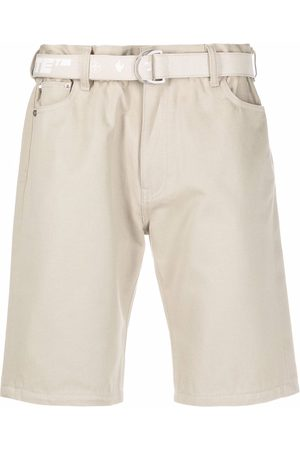 Off-White Belted Bermuda shorts