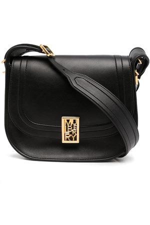 MULBERRY Women Shoulder Bags - Logo-plaque leather satchel bag
