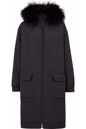 Fendi Reversible hooded coat