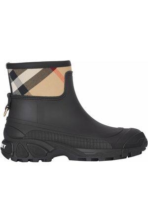 Burberry Women Wellingtons - House check panel rain boots
